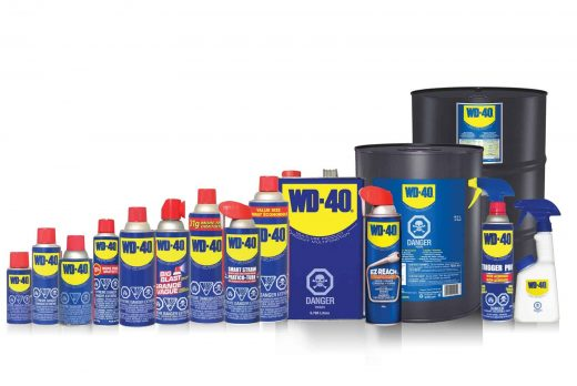 The Water Displacement Wonder, WD-40!